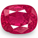 0.85-Carat IGI-Certified Unheated Bright Pinkish Red Ruby