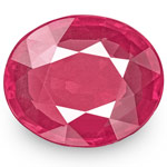 1.24-Carat Unheated Flawless Pink Red Ruby from Mozambique