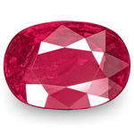 1.13-Carat IGI-Certified Unheated Deep Red Ruby from Burma