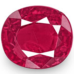 0.92-Carat IGI-Certified Unheated Intense Pinkish Red Burma Ruby