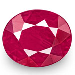 1.02-Carat Unheated Eye-Clean Rich Pinkish Red Ruby from Burma