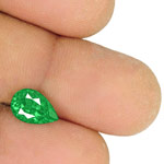 1.87-Carat Eye-Clean Lively Intense Green Emerald from Colombia