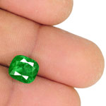 3.28-Carat Grass Green Emerald from Muzo Mines, Colombia