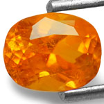 0.85-Carat Fanta Orange Clinohumite from Mahenge, Tanzania