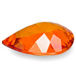 2.41-Carat Unique Dark Orange Clinohumite from Tanzania