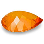 2.72-Carat Vivid Orange Clinohumite from Mahenge, Tanzania
