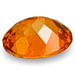 1.02-Carat Dark Orange Eye-Clean Clinohumite from Mahenge