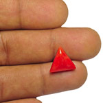 5.21-Carat Light Orangy Red Natural Italian Coral