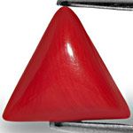 4.65-Carat Intense Orangy Red Natural Italian Coral