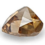 0.47-Carat Sparkling Fancy Deep Champagne Brown Diamond