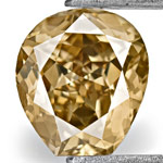 0.62-Carat Natural Fancy Champagne Brown Diamond
