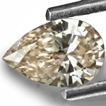 0.43-Carat Lively VS1-Clarity Light Brown Diamond