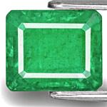 4.54-Carat Natural & Untreated Deep Green Sandawana Emerald