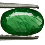 1.02-Carat Beautiful Intense Green Emerald from Zambia