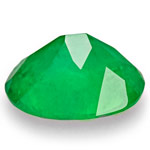 1.71-Carat Deep Velvet Green Oval-Cut Colombian Emerald
