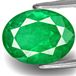 6.12-Carat Spectacular Lively Royal Green Emerald from Zambia