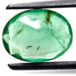 1.54-Carat Breathtaking Transparent Zambian Emerald