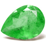 75.16-Carat Massive Pear-Shaped Colombian Emerald (Untreated)