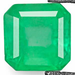 0.48-Carat Vivid Green VS-Clarity Emerald from Colombia