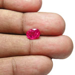 1.59-Carat Exclusive Natural & Unheated Burmese Ruby