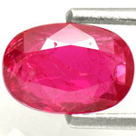 1.25-Carat Lovely Pinkish Red Unheated Ruby from Burma (IGI)