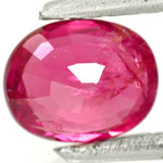1.06-Carat Unheated Pinkish Red Ruby from Burma (IGI-Certified)