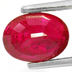 1.87-Carat IGI-Certified Unheated Deep Red Ruby