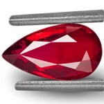 1.02-Carat IGI-Certified Unheated Pigeon Blood Red Ruby