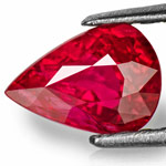 1.25-Carat Lively Pinkish Red Unheated Ruby from Niassa Mines