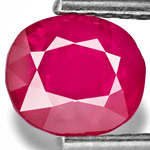 1.41-Carat Natural & Untreated Ruby from Mogok, Burma