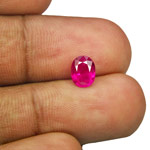 1.14-Carat Pleasing Intense Pinkish Red Ruby from Burma