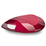 3.07-Carat VS-Clarity Blood Red Pear-Shaped Mozambique Ruby