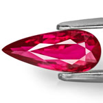 2.01-Carat Dazzling Vivid Red Unheated Ruby from Mozambique