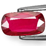 2.01-Carat GRS-Certified Purplish Red Ruby from Mozambique