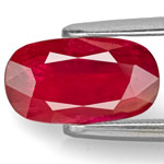 2.47-Carat AIGS-Certified Unheated Blood Red Mozambique Ruby