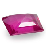 0.34-Carat Unheated Pinkish Red Ruby from Mozambique