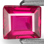 0.28-Carat Neon Red VS-Clarity Ruby from Mozambique (Unheated)