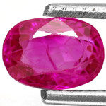 0.92-Carat AIGS-Certified Unheated Pinkish Red Ruby from Burma