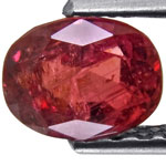 1.20-Carat Lustrous Orangish Red Ruby from India