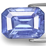 7.86-Carat Unheated Bright Intense Blue Sapphire from Sri Lanka