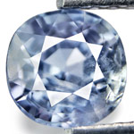 1.06-Carat Unheated Cushion-Cut Burmese Blue Sapphire