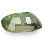 5.96-Carat Unique Yellowish Olive Green Sapphire from Madagascar