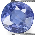 1.01-Carat Unheated Intense Blue Sapphire from Mogok, Burma