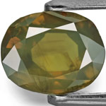 2.56-Carat AIGS-Certified Unheated Color-Change Sapphire