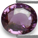 1.87-Carat Natural & Untreated Intense Purple Spinel from Ceylon