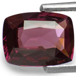 1.69-Carat Reddish Purple Cushion-Cut Spinel from Sri Lanka