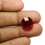 10.97-Carat Reddish Orange Sri Lankan Hessonite Garnet