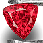 0.27-Carat Breathtaking Fiery Pigeon Blood Red Mahenge Spinel