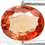 0.83-Carat Attractive Orangy Brown Spinel from Burma (AIGS)