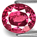 4.57-Carat Dazzling Fiery Pink Oval-Cut Spinel from Sri Lanka